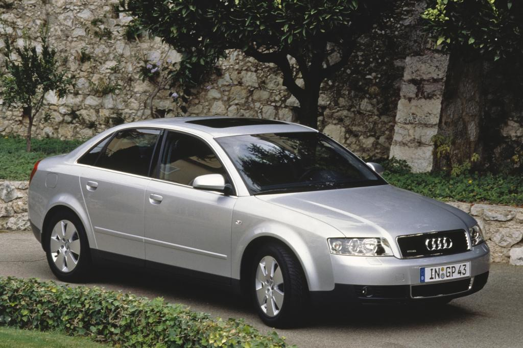 Der A4 ist der Nachfolger des Audi 80