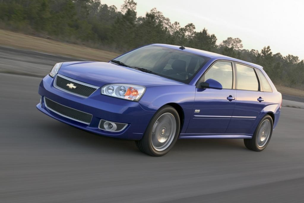 Der Chevrolet Malibu als SChrägheckversion.