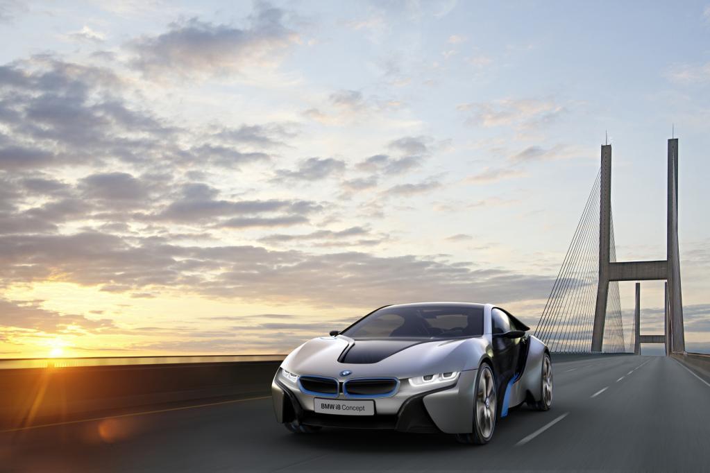 Der Concept i8 macht Lust auf die Elektro-Zukunft.
