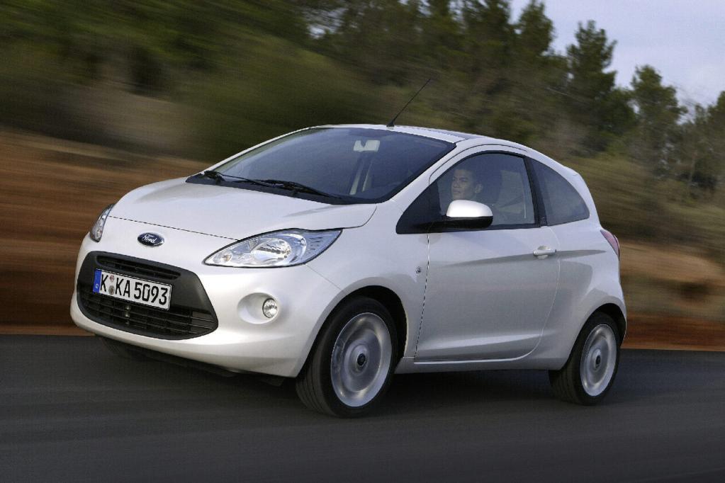 Der Ford Ka steht bereits ab 9 700 Euro in den Schauräumen der Händler.