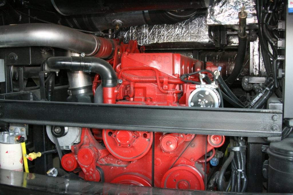 Der Generator garantiert Stromversorgnung.