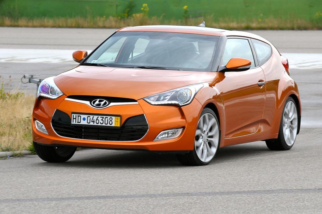 Der Hyundai Veloster tritt gegen VW Scirocco und Co. an