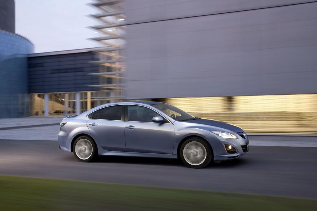Der Mazda6 überzeugt durch seine Sportlichkeit