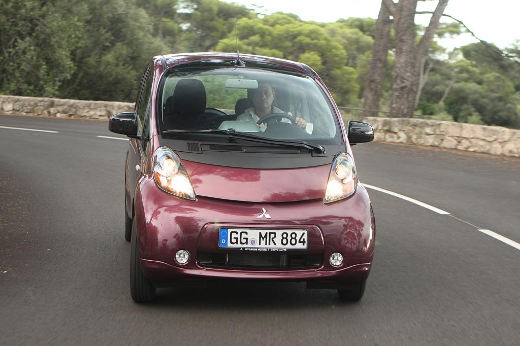 Der Mitsubishi i-MiEV ist eines der ersten Elektroautos auf Deutschlands Straßen.