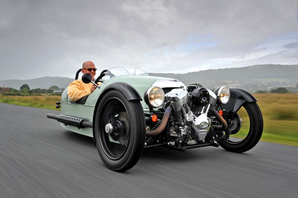 Der Morgan 3 Wheeler wiegt keine 500 Kilo
