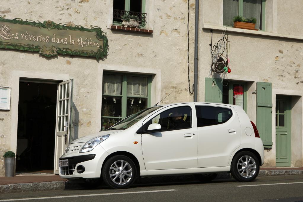 Der Nissan Pixo kostet 8 290 Euro und ist damit ein wahres Schnäppchen.