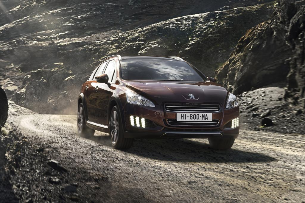 Der Peugeot 508 RXH wird von einem Dieselhybridantrieb angetrieben