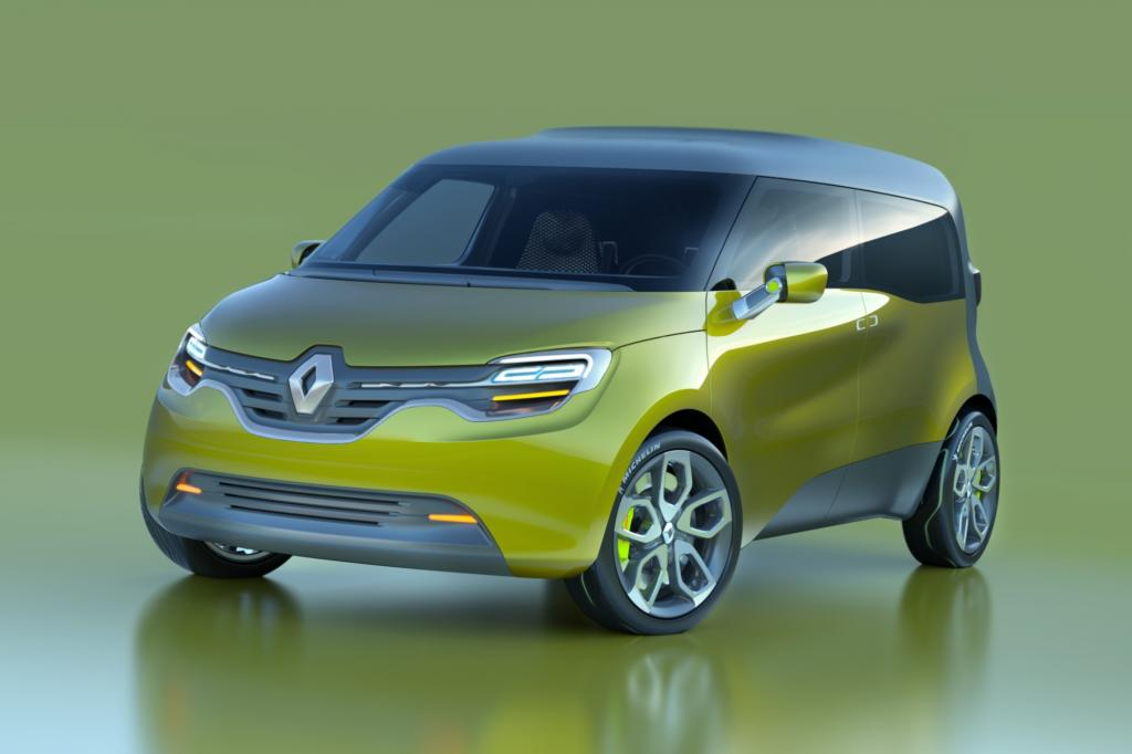 Der Renault Frendzy soll sowohl Waren als auch Familien transportieren