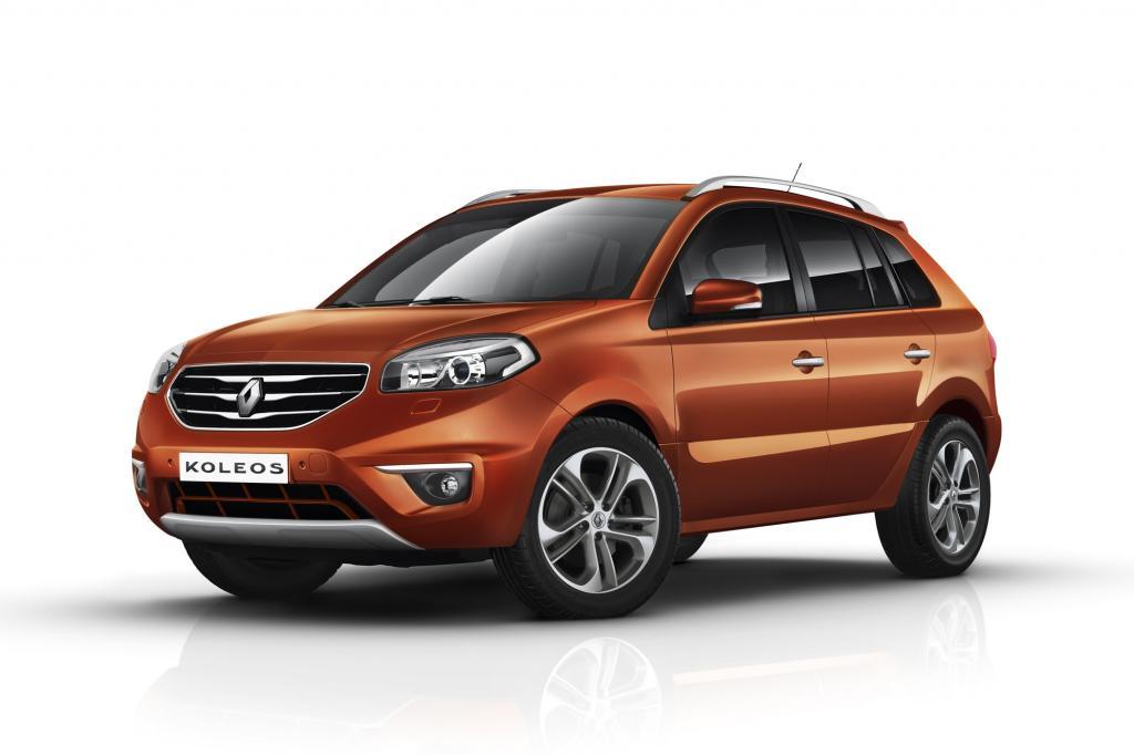 Der Renault Koleos hat eine komplett neue Front