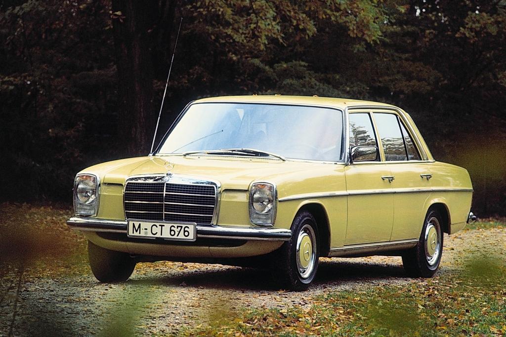Der Strichacht ist eine werksinterne Bezeichnung - Mercedes.