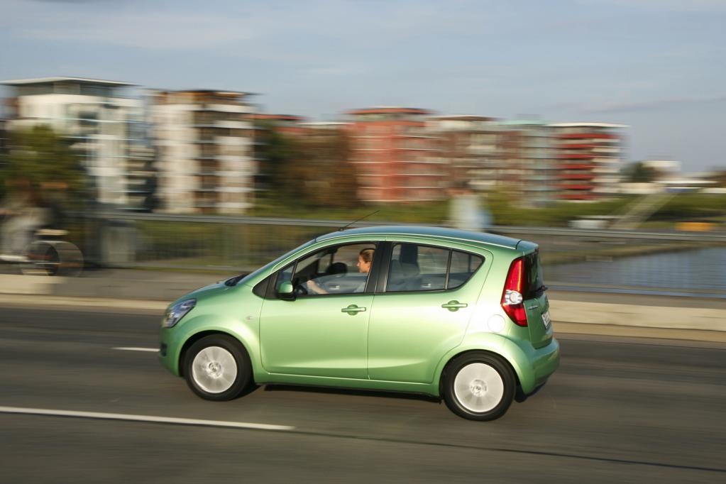 Der Suzuki Splash kostet mindestens 9 990 Euro.
