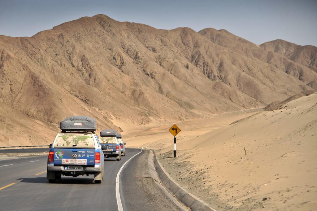 Der Volkswagen Amarok in Chile.