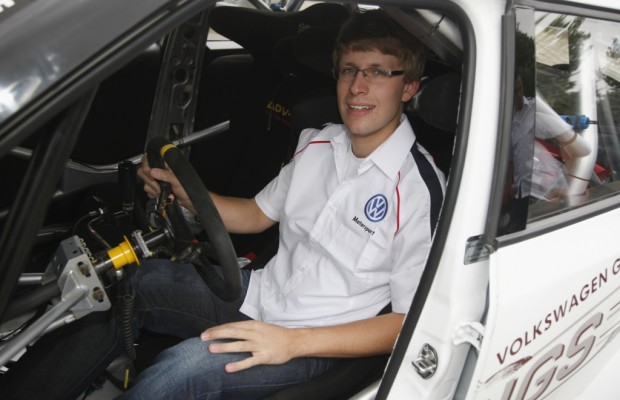 Deutscher Fahrer für Volkswagen bei ADAC Rallye Deutschland