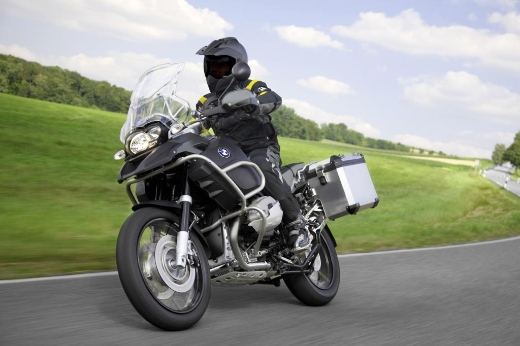 Die BMW R 1200 GS ist das meistverkaufte Motorrad in Deutschland