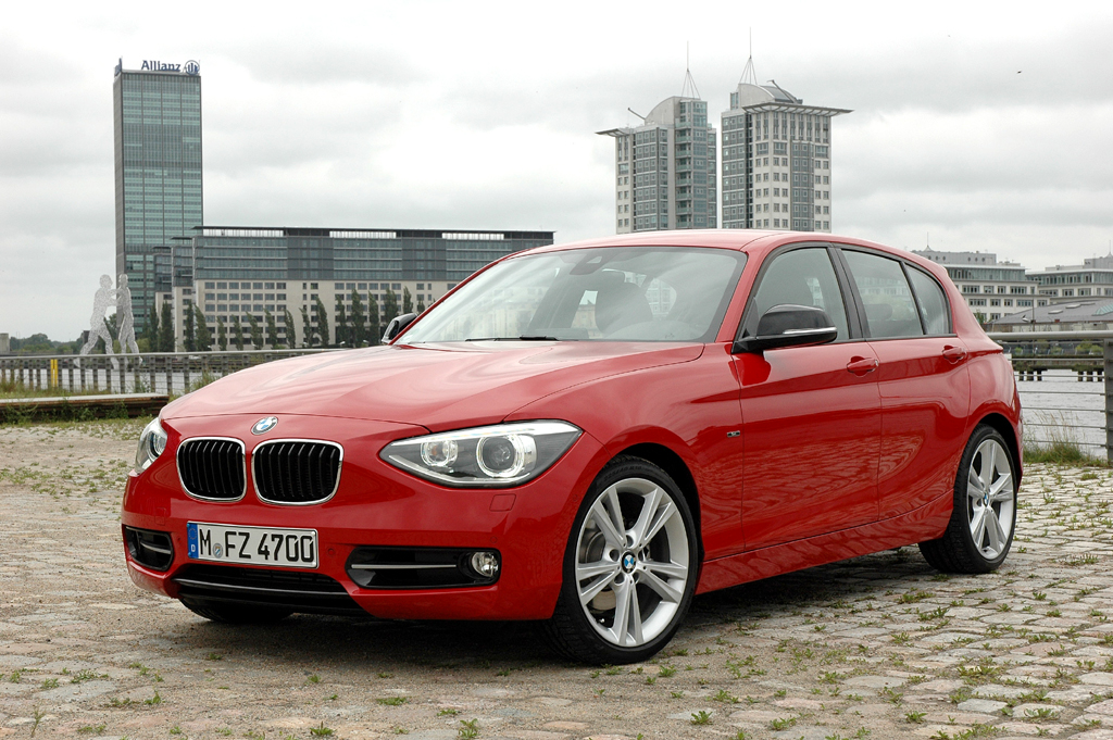 Die Eroberungsmaschine: BMW kündigt effizienteren 1er für Mitte September an