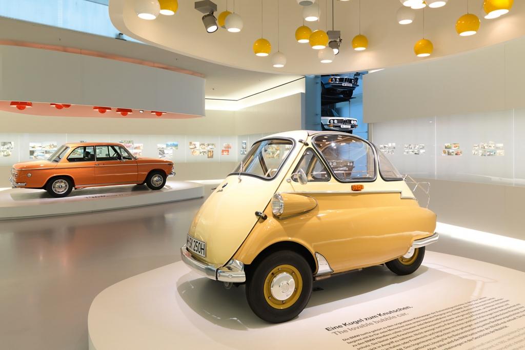 Die Isetta hört auf den Namen Knutschkugel - BMW.