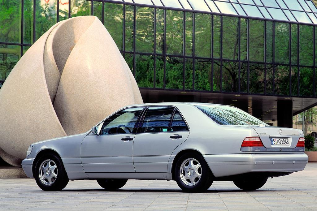 Die Produktion des W 140 lief bis auf wenige Ausnahmen 1998 aus