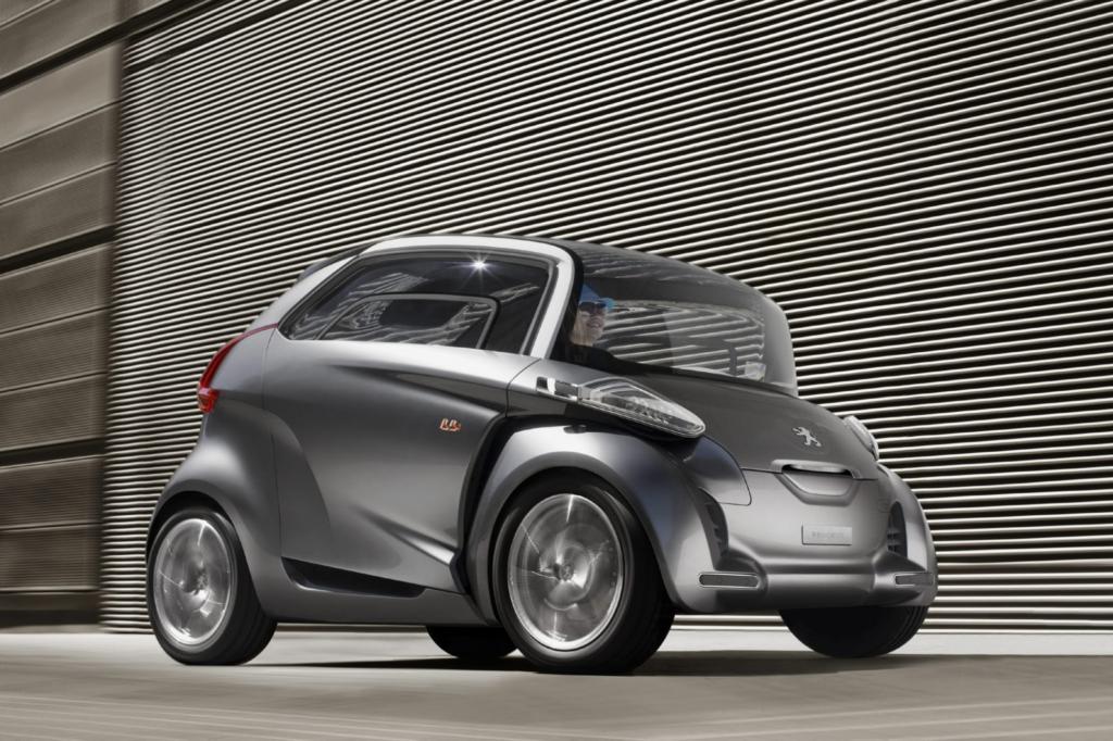 Die Studie Peugeot BB1 soll ebenfalls gebaut werden
