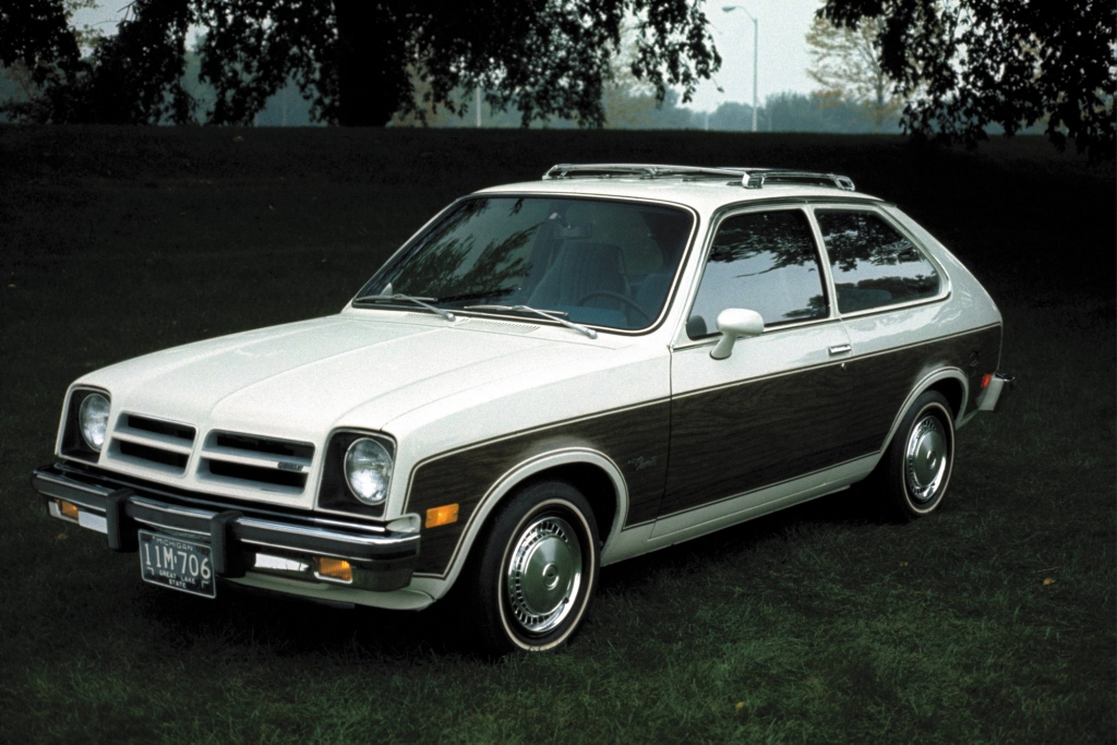 Entspricht nicht der Standard-Vorstellung eines amerikanischen Autos: der Chevrolet Chevette.