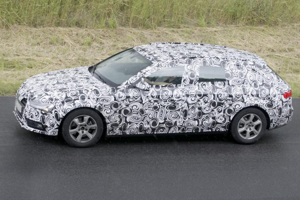 Erwischt: Erlkönig Audi A4 Avant