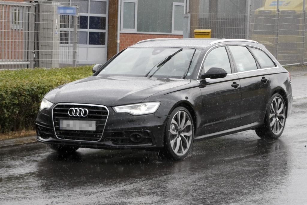 Erwischt: Erlkönig Audi S6 Avant