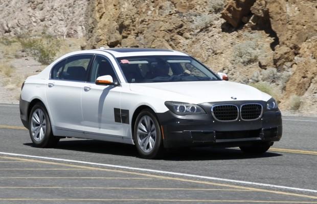Erwischt: Erlkönig BMW 7er