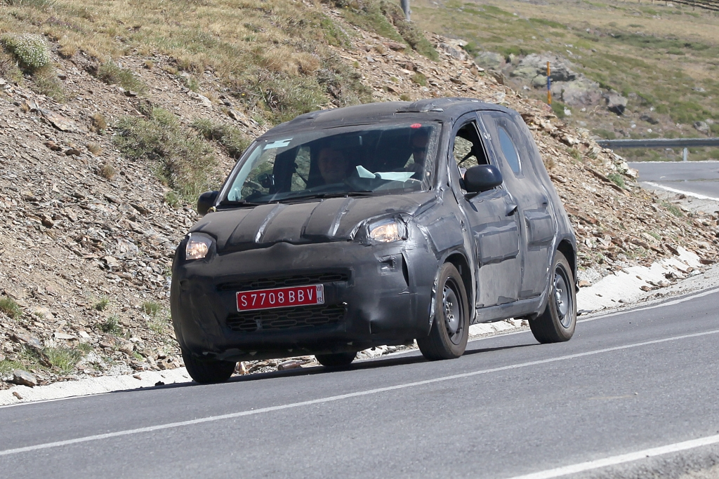 Erwischt: Erlkönig Fiat Panda – Der Bär ist los!