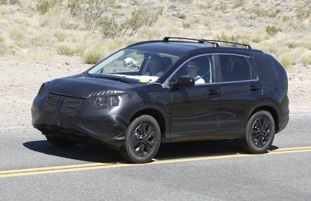 Erwischt: Erlkönig Honda CR-V