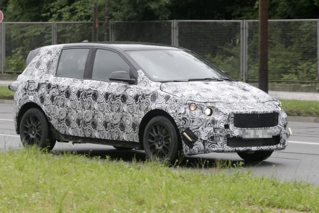 Erwischt: Erlkönig der neuen BMW 1er Serie