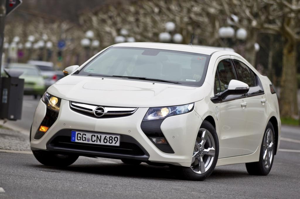Für den Opel-Ampera soll es ein spezielles Strom-Paket geben