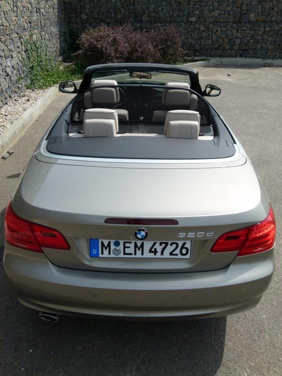 Fahrbericht BMW 320d Cabrio: Der Weg ist das Ziel