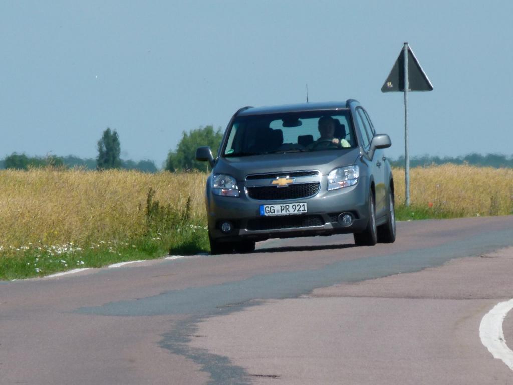 Fahrbericht Chevrolet Orlando 1.8 MT LTZ: Einfach nicht zu fassen ...