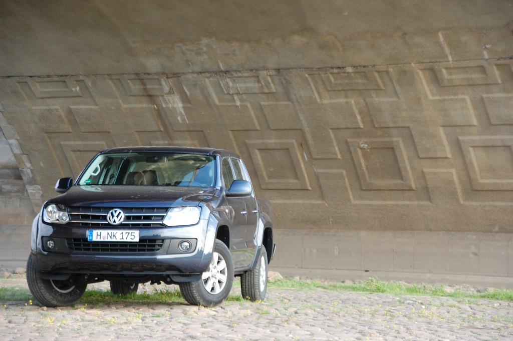 Fahrbericht VW Amarok 2.0 TDI 4MOTION Trendline : Lastesel in Abendgarderobe