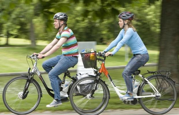 Fahrradhelme - Die Mehrheit fährt oben ohne