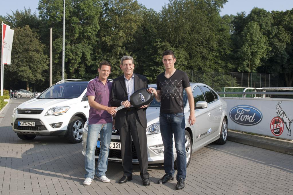 Ford bleibt Sponsor des 1. FC Köln