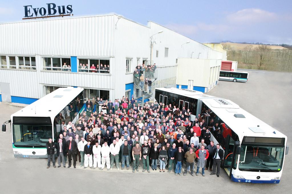 Französisches Evobus-Werk wird 30 Jahre