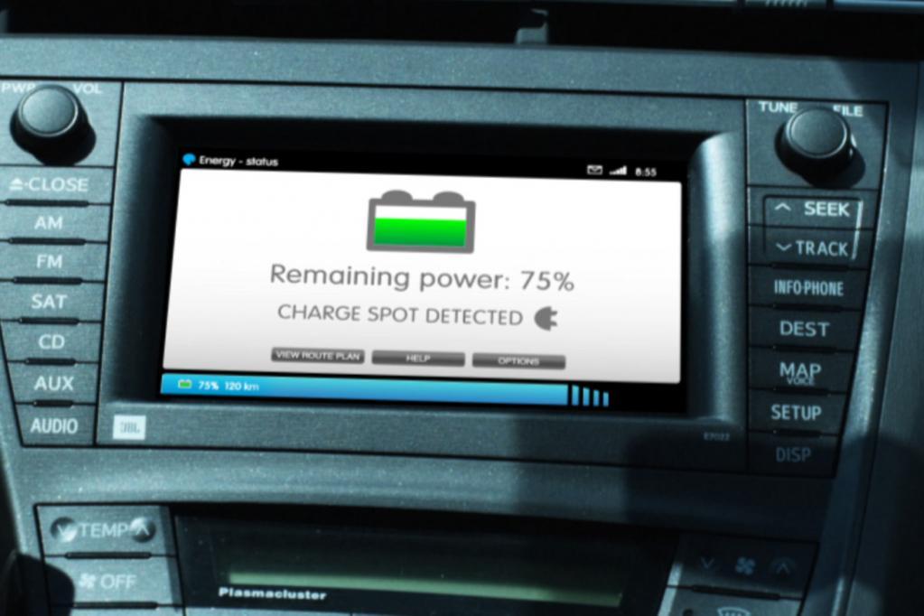 Geht der Akku zur Neige, soll das Display den Fahrer frühzeitig informieren und ihn zur nächste Wechselstation lotsen.