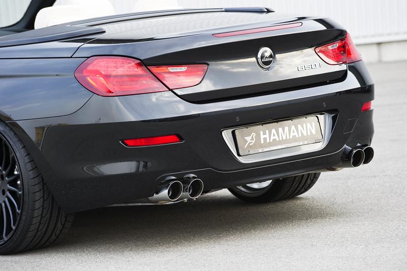Hamann Individualisierung für BMW 6er Cabrio - Body-Kit folgt im Herbst