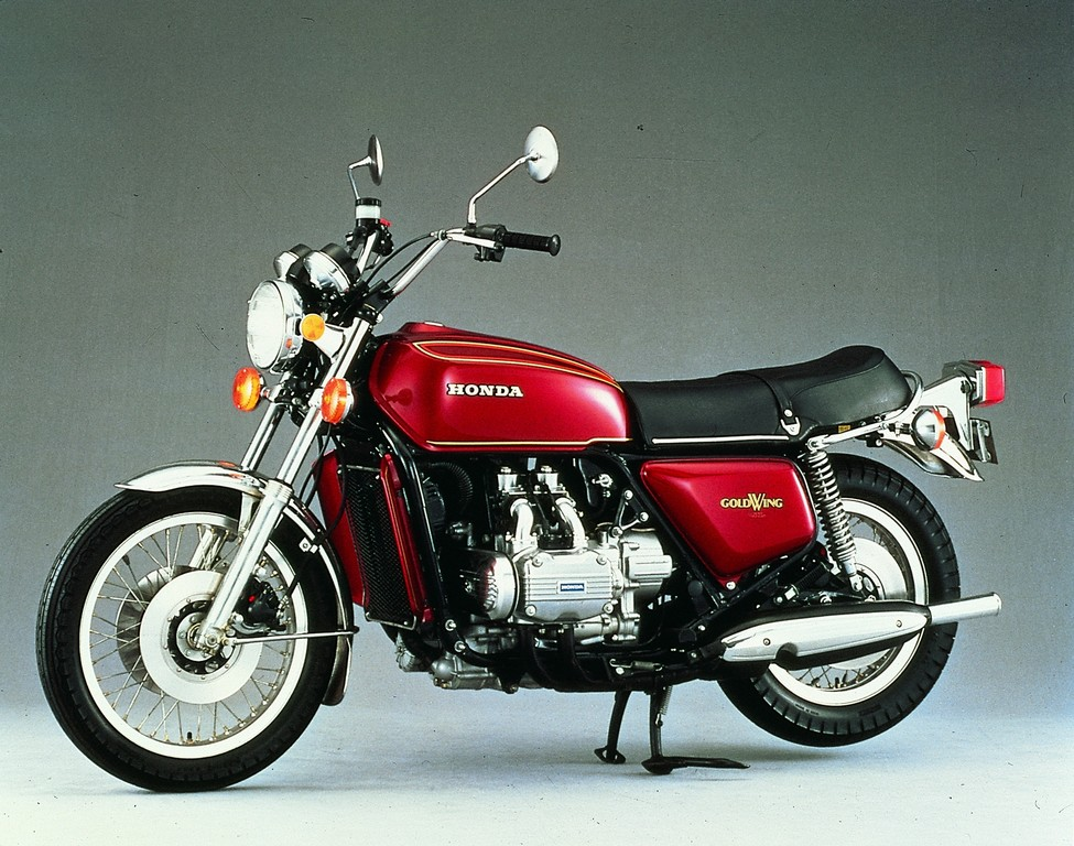 Honda GL 1000 Gold Wing (1974).