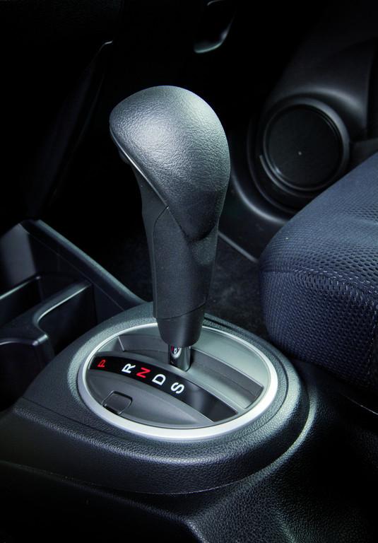 Honda Jazz mit CVT-Automatikgetriebe.