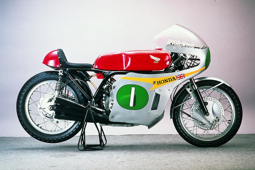 Honda RC 166 (1965): Mit sechs Zylindern zum WM-Titel.