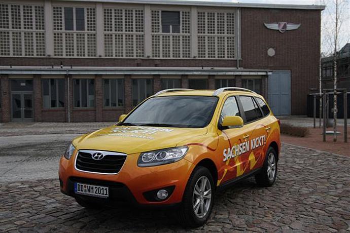 Hyundai spendet Aktions-Fahrzeug für Versteigerung