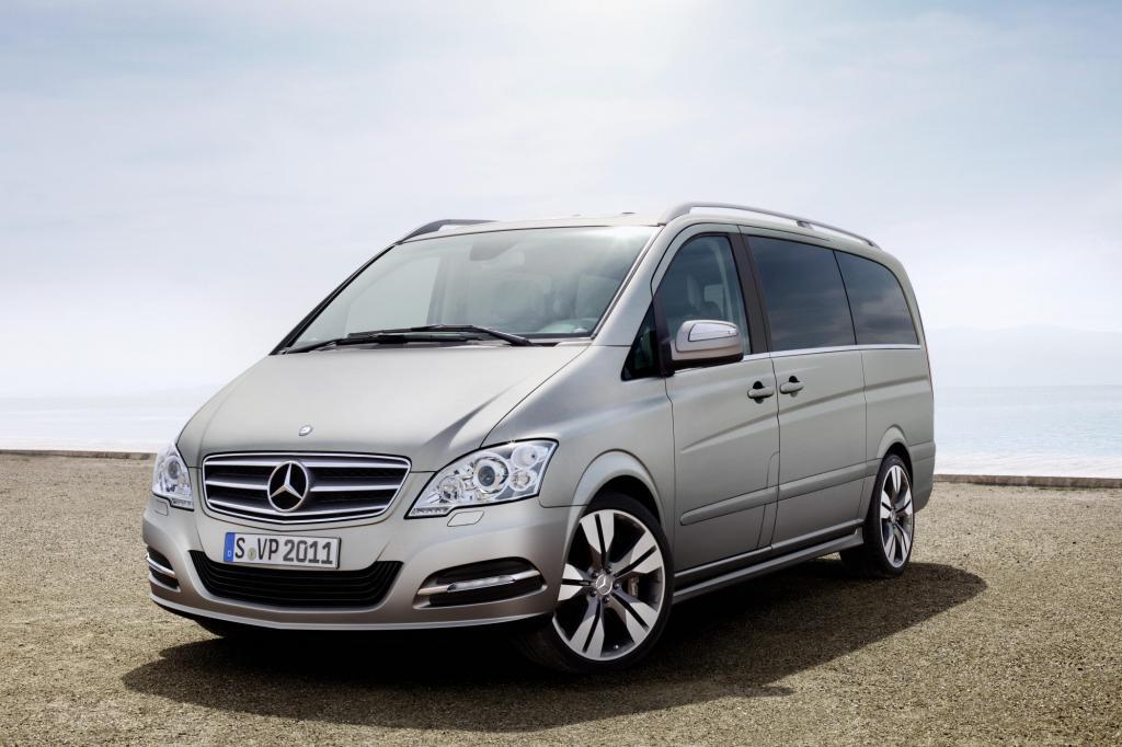 IAA 2011: Mercedes Viano Vision Pearl - Kleinbus im S-Klasse-Stil
