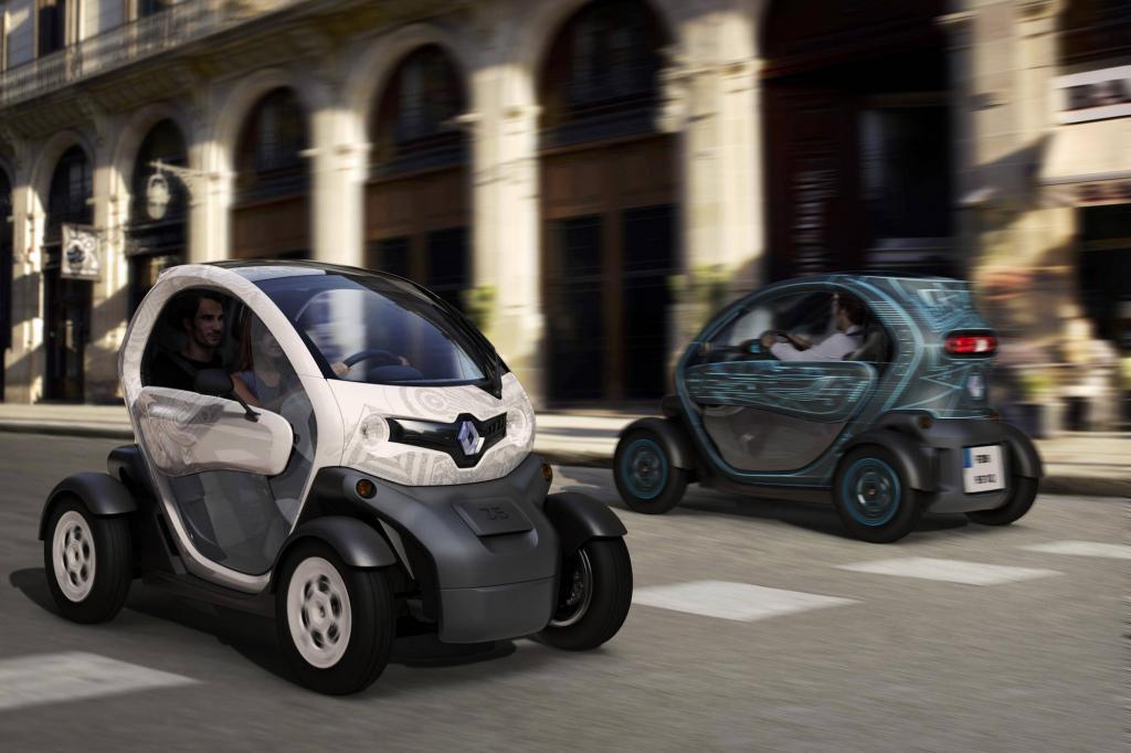 Im März 2012 soll der Renault Twizy für eine Revolution in der City sorgen