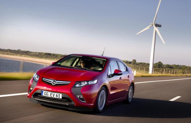 Innovationspreis für Opel Ampera