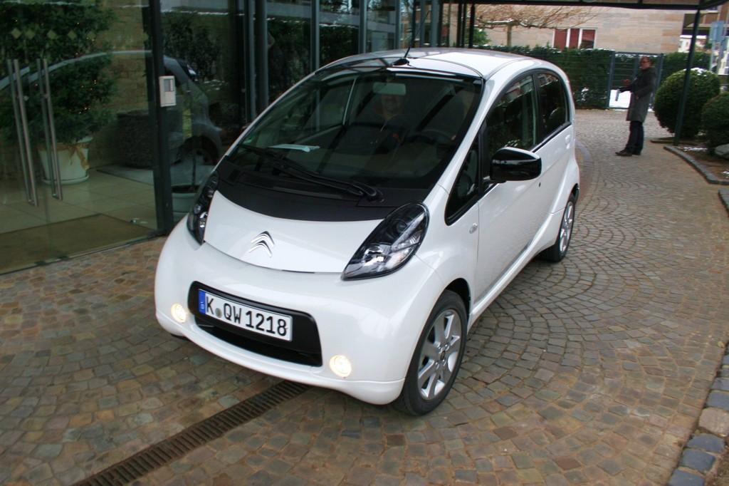 Innovationspreis für den Citroën C-Zero