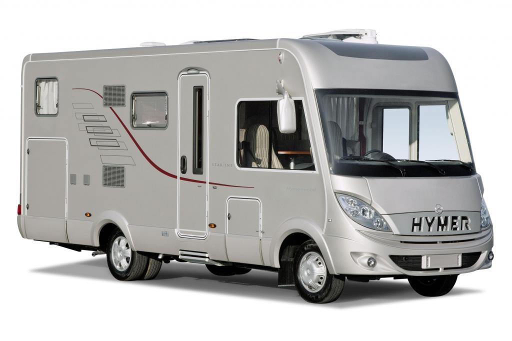 Insgesamt sind sechs neue Hymermobil B-StarLine-Modelle, vier von ihnen mit Doppelboden, im Angebot