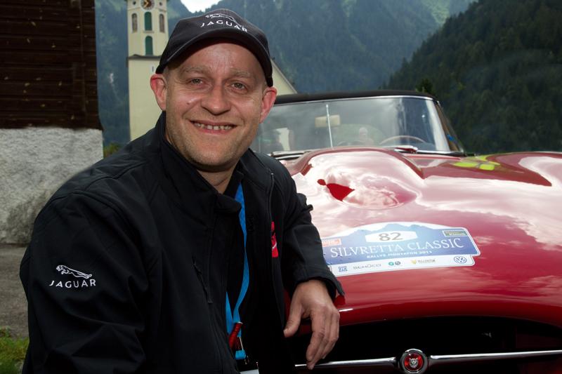 Jürgen Vogel bei der Silvretta.