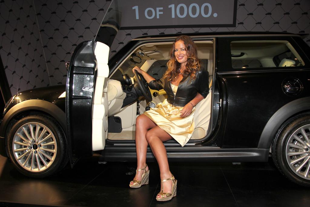 Jade Jagger bei der Deutschland-Premiere des Mini Inspired by Goodwood.
