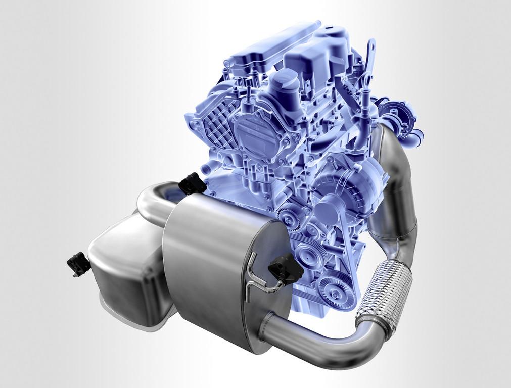 Kompakt-Abgasanlage für Frontmotoren von Eberspächer.